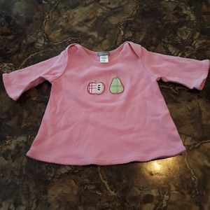 Carters Shirt 3m Girls Pink